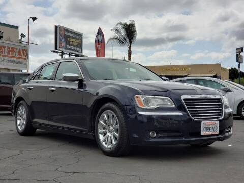 2012 Chrysler 300 for sale at First Shift Auto in Ontario CA