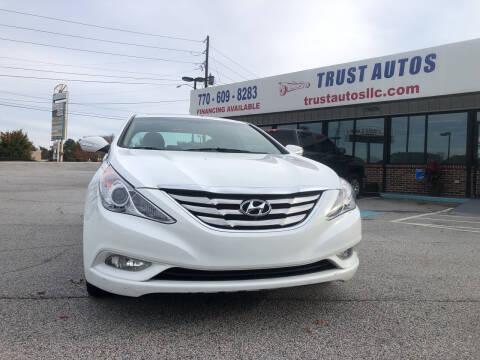 2013 Hyundai Sonata for sale at Trust Autos, LLC in Decatur GA