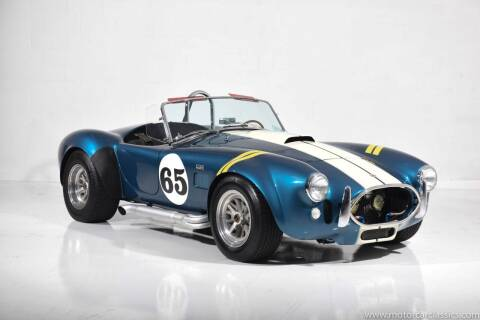 1964 Shelby Cobra for sale at Motorcar Classics in Farmingdale NY