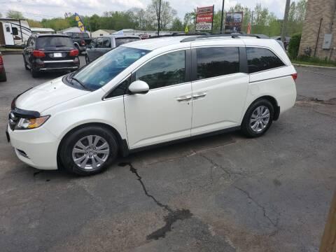 2016 Honda Odyssey for sale at Drive Motor Sales in Ionia MI