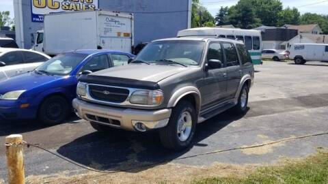 1999 Ford Explorer for sale at JC Auto Sales in Belleville IL