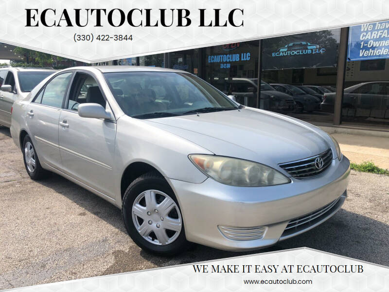 2006 Toyota Camry for sale at ECAUTOCLUB LLC in Kent OH