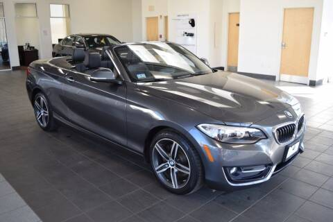 2017 BMW 2 Series for sale at BMW OF NEWPORT in Middletown RI