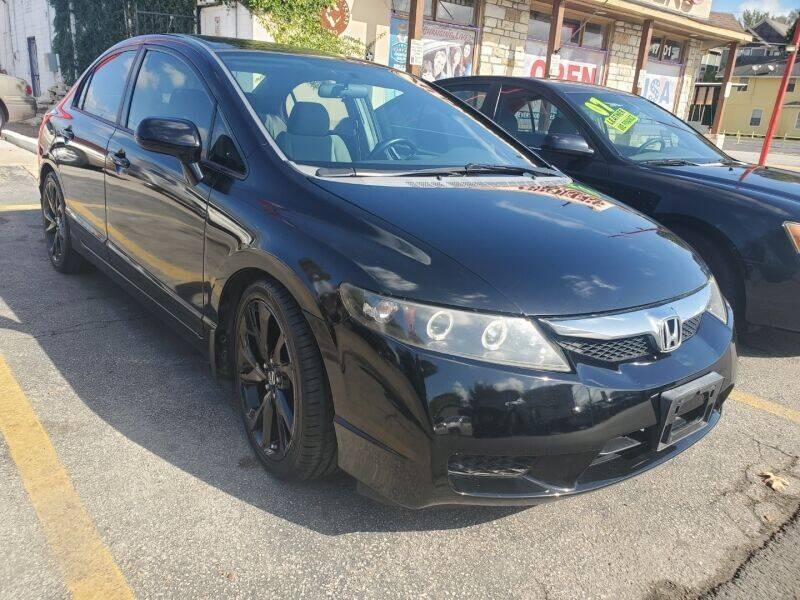 2009 Honda Civic for sale at USA Auto Brokers in Houston TX