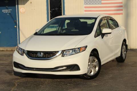2015 Honda Civic for sale at Dynamics Auto Sale in Highland IN