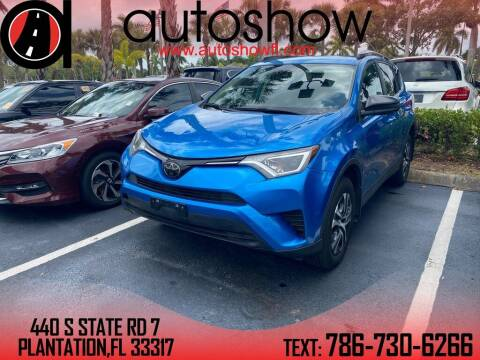 2017 Toyota RAV4 for sale at AUTOSHOW SALES & SERVICE in Plantation FL