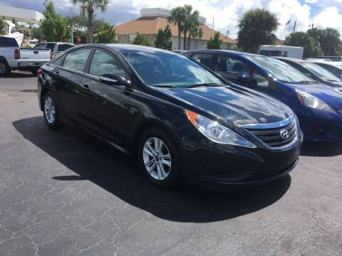 2014 Hyundai Sonata for sale at CAR-RIGHT AUTO SALES INC in Naples FL