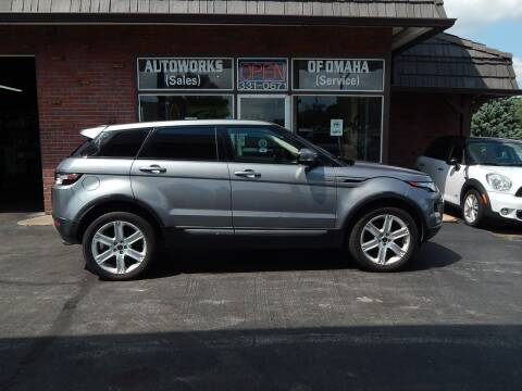 2013 Land Rover Range Rover Evoque for sale at AUTOWORKS OF OMAHA INC in Omaha NE
