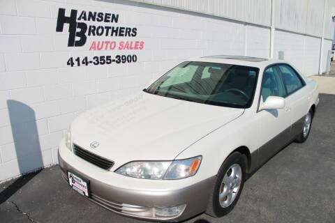 1999 Lexus ES 300 for sale at HANSEN BROTHERS AUTO SALES in Milwaukee WI