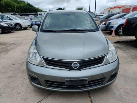 2011 Nissan Versa for sale at Dubik Motor Company in San Antonio TX