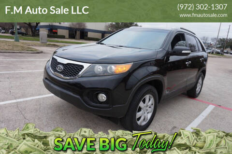 2011 Kia Sorento for sale at F.M Auto Sale LLC in Dallas TX