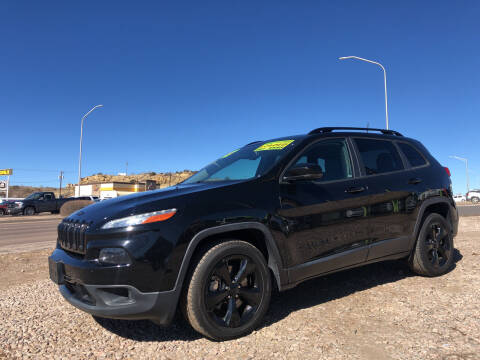 2017 Jeep Cherokee for sale at 1st Quality Motors LLC in Gallup NM