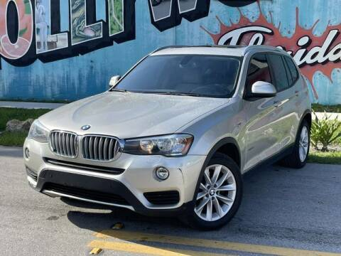 2017 BMW X3 for sale at Palermo Motors in Hollywood FL