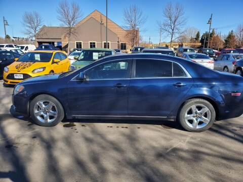 2010 Chevrolet Malibu for sale at ROSSTEN AUTO SALES in Grand Forks ND