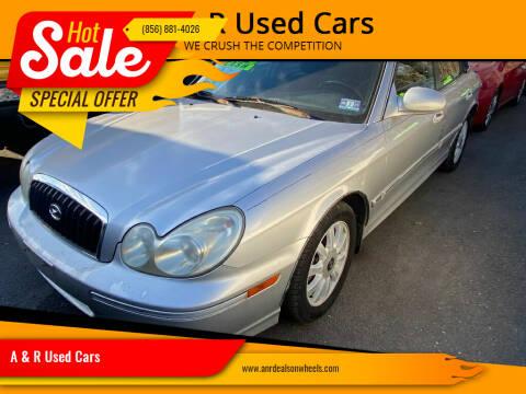 2005 Hyundai Sonata for sale at A & R Used Cars in Clayton NJ