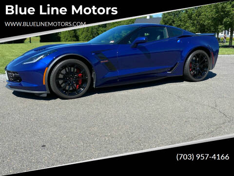 2019 Chevrolet Corvette for sale at Blue Line Motors in Winchester VA