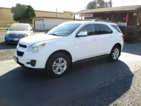 2011 Chevrolet Equinox for sale at Manzanita Car Sales in Gridley CA