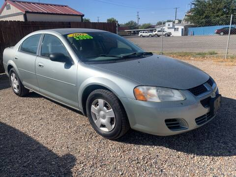 2005 Dodge Stratus for sale at CHURCHILL AUTO SALES in Fallon NV