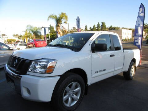 2010 Nissan Titan for sale at Eagle Auto in La Mesa CA
