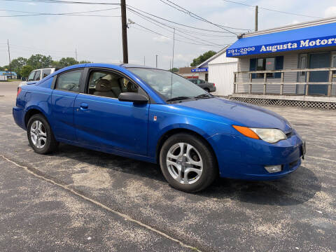 2004 Saturn Ion for sale at Augusta Motors Inc in Indianapolis IN