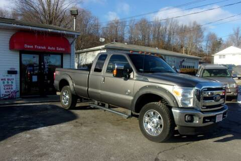 2012 Ford F-350 Super Duty for sale at Dave Franek Automotive in Wantage NJ