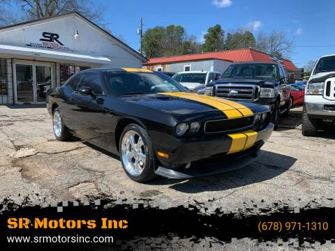 2011 Dodge Challenger for sale at SR Motors Inc in Gainesville GA