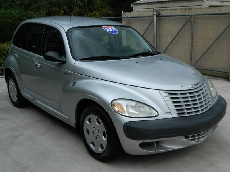 2003 Chrysler PT Cruiser for sale at Jeff's Auto Sales & Service in Port Charlotte FL