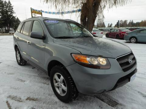 2007 Hyundai Santa Fe for sale at VALLEY MOTORS in Kalispell MT