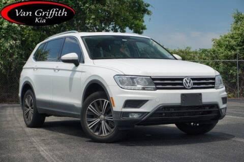 2019 Volkswagen Tiguan for sale at Van Griffith Kia Granbury in Granbury TX