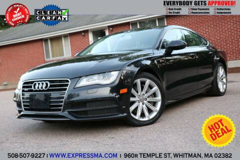 2012 Audi A7 for sale at Auto Sales Express in Whitman MA