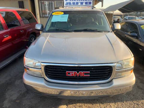 2003 GMC Yukon for sale at Premier Auto Sales in Modesto CA