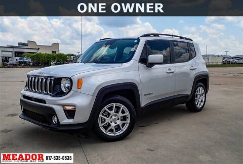 2020 Jeep Renegade for sale at Meador Dodge Chrysler Jeep RAM in Fort Worth TX