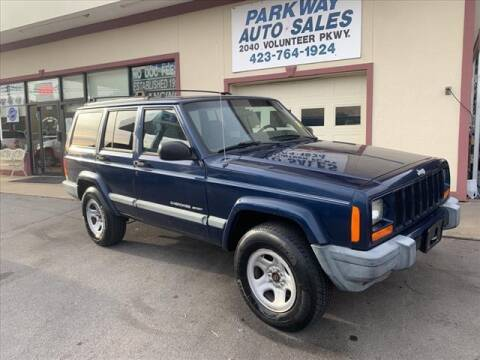 2000 Jeep Cherokee for sale at PARKWAY AUTO SALES OF BRISTOL in Bristol TN
