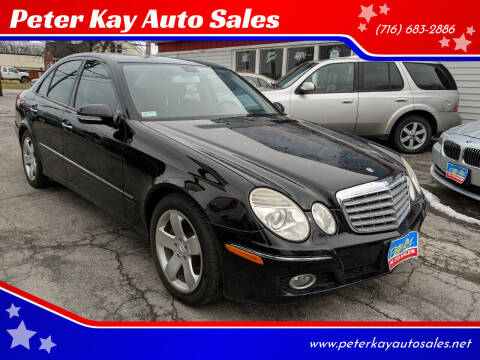 2007 Mercedes-Benz E-Class for sale at Peter Kay Auto Sales in Alden NY