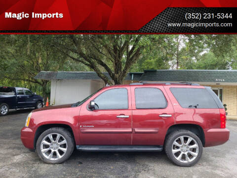 2008 GMC Yukon for sale at Magic Imports in Melrose FL