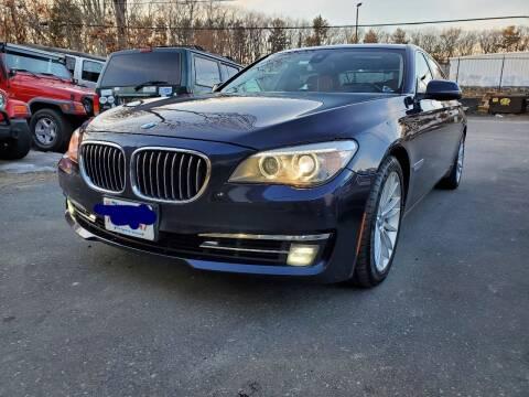 2013 BMW 7 Series for sale at MX Motors LLC in Ashland MA