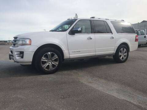 2016 Ford Expedition EL for sale at Canuck Truck in Magrath AB