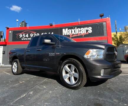 2014 RAM Ram Pickup 1500 for sale at Maxicars Auto Sales in West Park FL