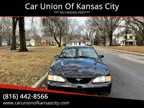 1996 Ford Mustang for sale at Car Union Of Kansas City in Kansas City MO