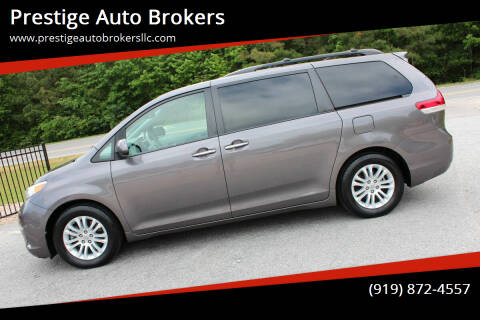 2012 Toyota Sienna for sale at Prestige Auto Brokers in Raleigh NC