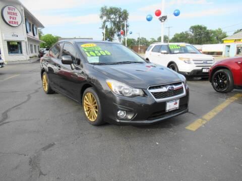 2014 Subaru Impreza for sale at Auto Land Inc in Crest Hill IL