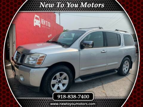 2004 Nissan Armada for sale at New To You Motors in Tulsa OK