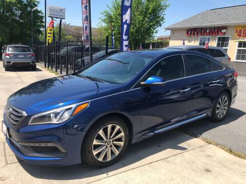 2016 Hyundai Sonata for sale at DYNAMIC CARS in Baltimore MD