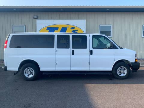 2018 Chevrolet Express Passenger for sale at TJ's Auto in Wisconsin Rapids WI