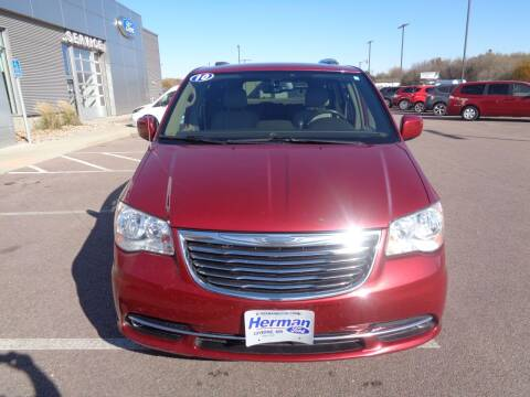2014 Chrysler Town and Country for sale at Herman Motors in Luverne MN