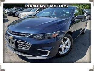 2016 Chevrolet Malibu for sale at Rockland Automall - Rockland Motors in West Nyack NY