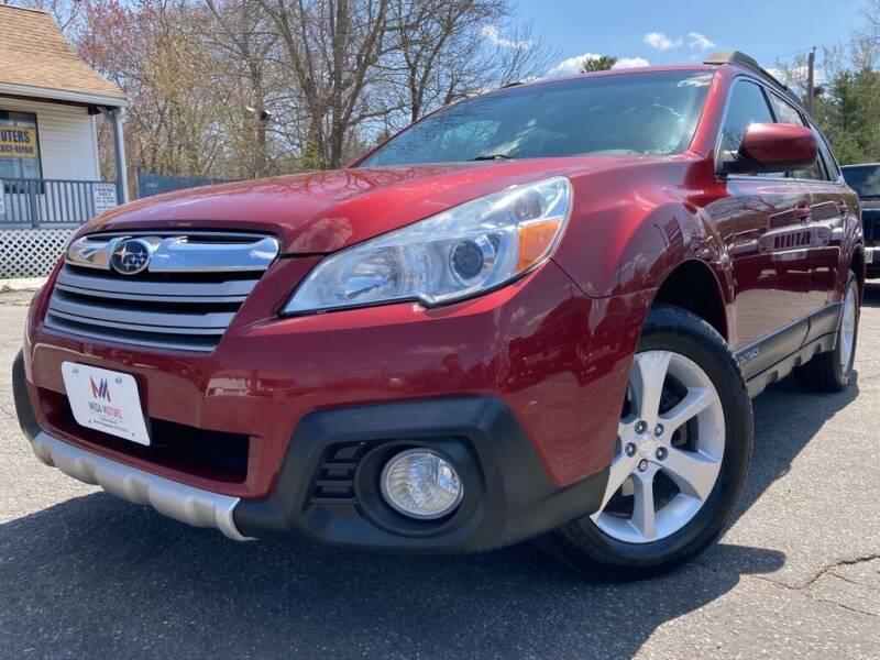 2013 Subaru Outback for sale at Mega Motors in West Bridgewater MA