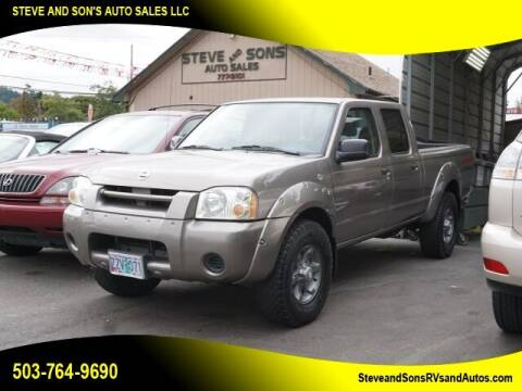 2004 Nissan Frontier for sale at Steve & Sons Auto Sales in Happy Valley OR