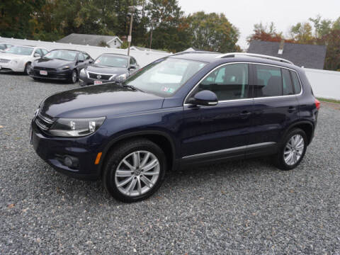 2012 Volkswagen Tiguan for sale at Colonial Motors in Mine Hill NJ