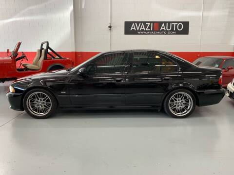 2000 BMW M5 for sale at AVAZI AUTO GROUP LLC in Gaithersburg MD